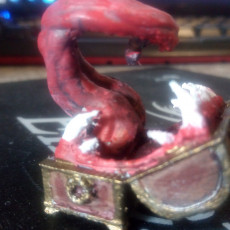 Picture of print of Mimic - Toothy Treasure Chest - Tabletop Miniature