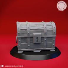 Treasure Chest - Disguised Mimic - Tabletop Miniature