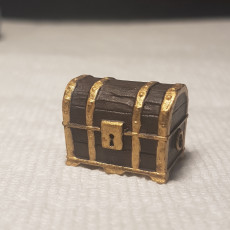 Picture of print of Treasure Chest - Disguised Mimic - Tabletop Miniature