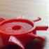 electric motor fan blades print image