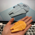 Simple Millennium Falcon with Tinkercad image