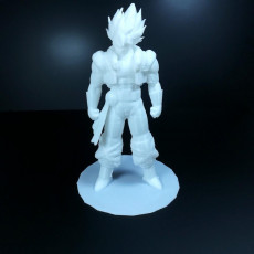 Picture of print of Gogeta
