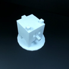 Picture of print of blocky!