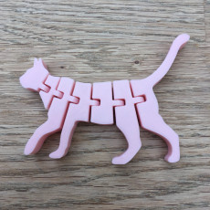 Picture of print of Flexi Cat