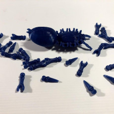 Picture of print of Copy of Spider #balljoint 32 connections