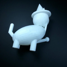 Picture of print of WizCat