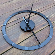 Modern Dovetail Clock