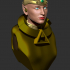 Laryel: SciFi Elvish Queen Bust image