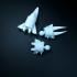 Subnautica below zero Ice worm print image