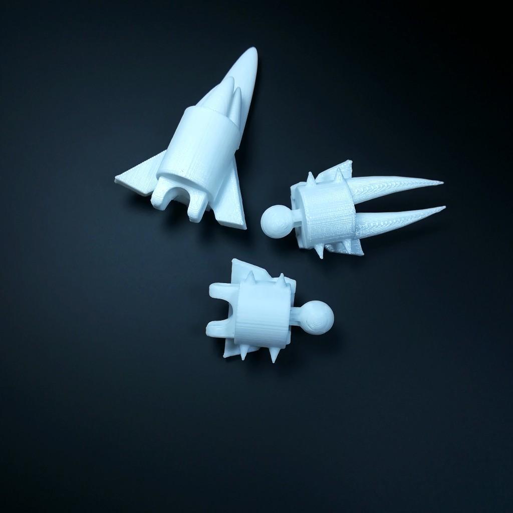 3D Printable Subnautica below zero Ice worm by Colin scott