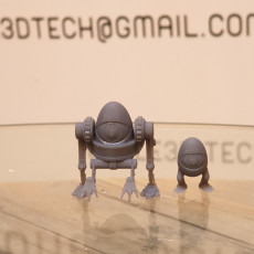 Picture of print of mutant egg mech