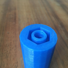 Picture of print of Reusable water bottle with cap