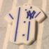 Keychain Babe Ruth 3 New York Yankees image