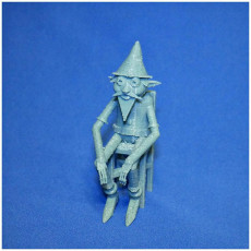 Picture of print of elf
