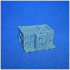 Picture of print of Modern house