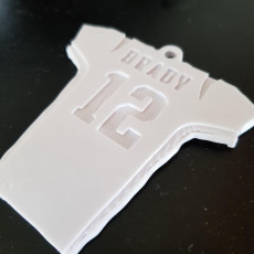 Picture of print of Tom Brady Keychain - Patriots