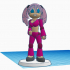 "Gynoid 573114 ""Stella"" #TinkerCharacters @MyMiniFactory @Tinkercad. image"