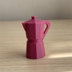 Picture of print of Moka Pot Keychain