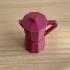 Moka Pot Keychain print image