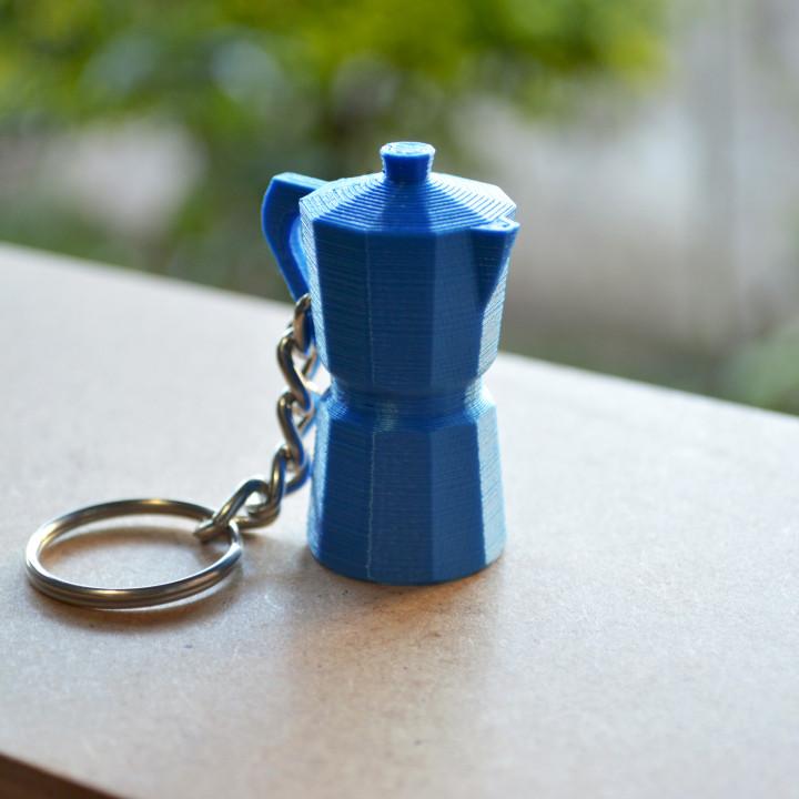 Moka Pot Keychain