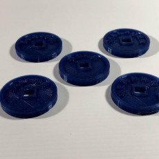 Picture of print of Werewolf Game Tokens