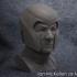 Buste of Ian McKellen as Magneto Free image