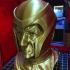 Buste of Ian McKellen as Magneto Free print image