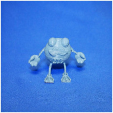 Picture of print of M&M guy #TinkerCharacters @MyMiniFactory @tinkercad