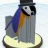 Fancy Macaw #Tinkercharacters image