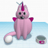 Coco The Caticorn #TinkerCharacters image