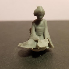 Picture of print of Sad Geisha 3D Sculpture