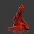 Sad Geisha 3D Sculpture image