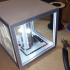 Rechargeable USB Lithophane Box / Cube  with power bank electronics image