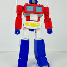 Picture of print of Articulated G1 Optimus Prime 1:30 - No Support Esta impresión fue cargada por Andrew Wu