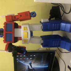 Picture of print of Articulated G1 Optimus Prime 1:30 - No Support Esta impresión fue cargada por Grobert