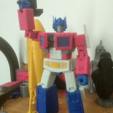Picture of print of Articulated G1 Optimus Prime 1:30 - No Support