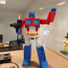 Picture of print of Articulated G1 Optimus Prime 1:30 - No Support Esta impresión fue cargada por Pablo Federico
