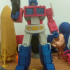 ARTICULATED G1 TRANSFORMERS OPTIMUS PRIME - NO SUPPORT print image