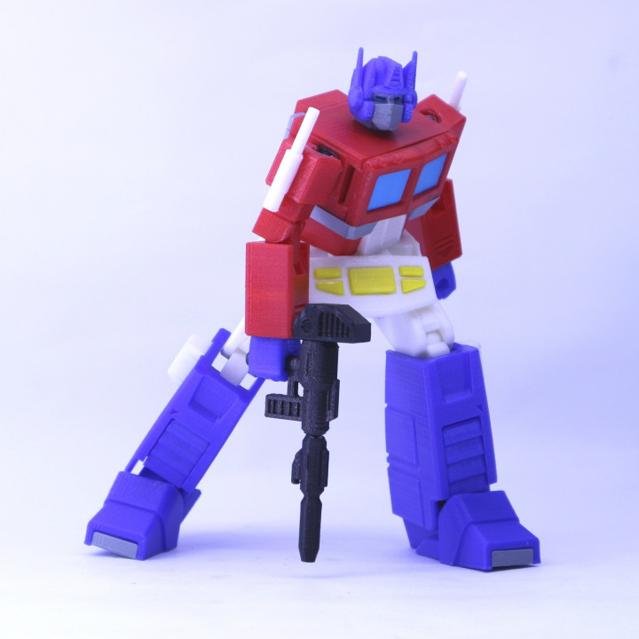 ARTICULATED G1 TRANSFORMERS OPTIMUS PRIME - NO SUPPORT