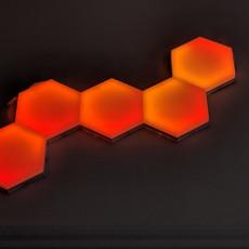 Hexagonal moodlite tiles