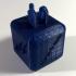 Charging brick design print image