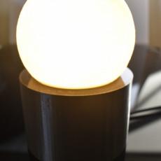 Simple Moon Lamp Base