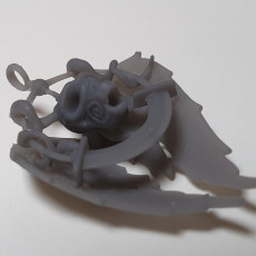 Picture of print of Skull and wings Pendant