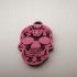 mexican skull keychain (llavero calavera mexicana) image