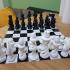 Organic Chess Set print image