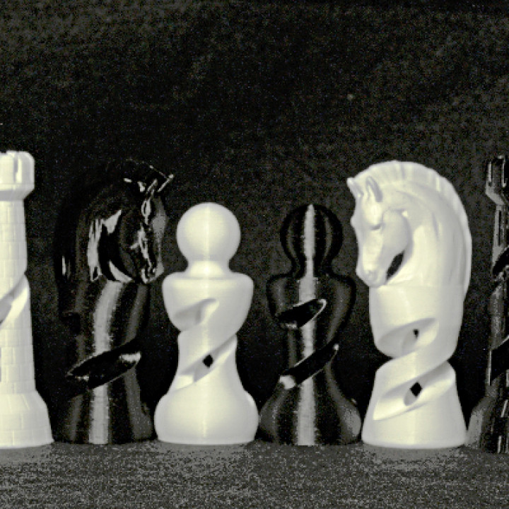 Organic Chess Set