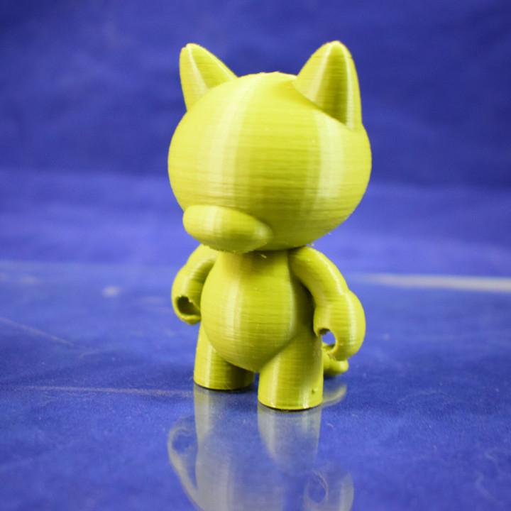 #Tinkercharacters Cat Munny Blank