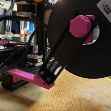 Ender 3 Pro Filament Side Spool Holder - Longer Heavy duty