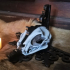 Cat skull bookend image
