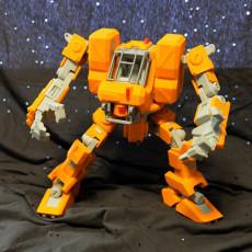 Heavy Construction Walker (Action Figure)